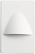 Kichler 12677WH Step and Hall Light Modern White LED Step Lighting Indoor