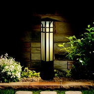 Kichler 15458OZ Outdoor 21 Inch Tall Olde Bronze Craftsman Path Light