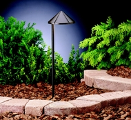 Kichler 15815AZT Landscape LED 20 Inch Tall Outdoor Path Light - Textured Architectural Bronze