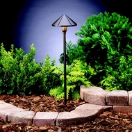 Kichler 15826AZT Landscape LED 22 Inch Tall Outdoor Path Light Fixture - Textured Architectural Bronze