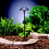 Kichler 15826BKT Landscape LED 22 Inch Tall Exterior Textured Black Path Lighting