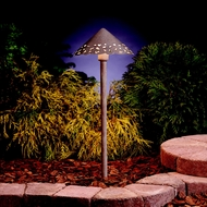 Kichler 15843NBK Landscape LED New Brick Finish 22 Inch Tall Exterior Path Light