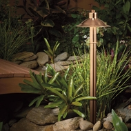 Kichler 15850CO Landscape LED Copper Finish Transitional Style Outdoor Path Lighting