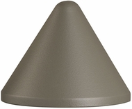 Kichler 16110GRY27 Fundamentals Contemporary Gray LED Exterior 2700k Deck Light