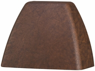 Kichler 16111TZT27 Contemporary Textured Tannery Bronze LED Exterior 2700k Deck Light