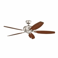 Kichler 300105NI Whitmore Brushed Nickel Finish 60 Inch Ceiling Fan