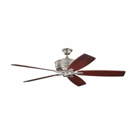 Kichler 300106BAP Monarch Burnished Antique Pewter Finish 70 Inch Home Ceiling Fan