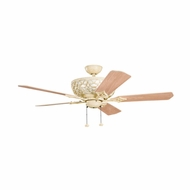 Kichler 300113AW Cortez Aged White Finish 52 Inch Ceiling Fan