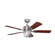 Kichler 300120AP Lyndon Antique Pewter Finish 52 Inch Home Ceiling Fan