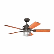 Kichler 300120OZ Lyndon Olde Bronze Finish 52 Inch Home Ceiling Fan