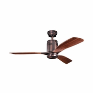 Kichler 300145OBB Ridley Oil Brushed Bronze Finish 52 Inch Ceiling Fan