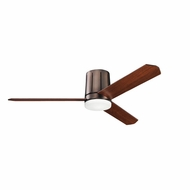 Kichler 300151OBB Innes Contemporary Oil Brushed Bronze Finish 52 Inch Home Ceiling Fan