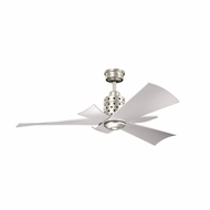 Kichler 300163NI Frey Brushed Nickel Finish 56 Inch Ceiling Fan