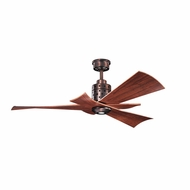 Kichler 300163OBB Frey Oil Brushed Bronze Finish 56 Inch Home Ceiling Fan