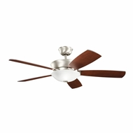 Kichler 300167NI Skye Brushed Nickel Finish 54 Inch Home Ceiling Fan