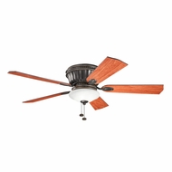 Kichler 300172OZ Dorset Olde Bronze Finish 52 Inch Home Ceiling Fan