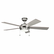 Kichler 300173PN Starkk Polished Nickel Finish 52 Inch Ceiling Fan