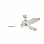 Kichler 300175NI Vassar Brushed Nickel Finish 52 Inch Home Ceiling Fan
