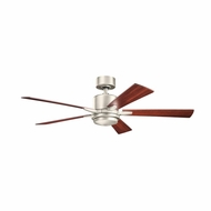 Kichler 300176NI Lucian Brushed Nickel Finish 52 Inch Ceiling Fan