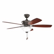 Kichler 300177OZ Frezno Olde Bronze Finish 52 Inch Home Ceiling Fan