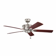 Kichler 300178AP Duval Antique Pewter Finish 52 Inch Home Ceiling Fan