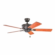 Kichler 300178OZ Duval Olde Bronze Finish 52 Inch Home Ceiling Fan