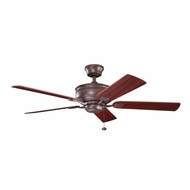 Kichler 300178TZ Duval Tannery Bronze Finish 52 Inch Ceiling Fan