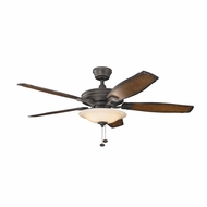 Kichler 300179OZ Rokr Olde Bronze Finish 52 Inch Ceiling Fan