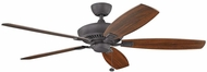 Kichler 300188DBK Tulle Distressed Black 60 Inch Home Ceiling Fan