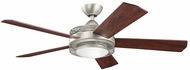 Kichler 300192NI Enthrall Brushed Nickel 60 Inch Ceiling Fan