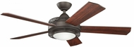 Kichler 300192SNB Enthrall Satin Natural Bronze 60 Inch Home Ceiling Fan