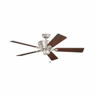 Kichler 300205NI Circolo Brushed Nickel Finish 52 Inch Home Ceiling Fan