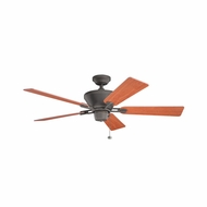 Kichler 300205OZ Circolo Olde Bronze Finish 52 Inch Ceiling Fan