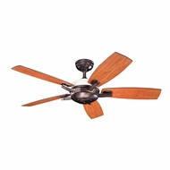 Kichler 300262OBB Brinbourne Oil Brushed Bronze Finish 54 Inch Home Ceiling Fan