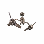 Kichler 310125OBB Yuree Contemporary Oil Brushed Bronze Finish 48 Inch Ceiling Fan
