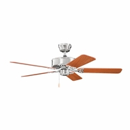 Kichler 330100BSS Renew Brushed Stainless Steel Finish 50 Inch Ceiling Fan