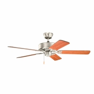Kichler 330100NI Renew Brushed Nickel Finish 50 Inch Home Ceiling Fan