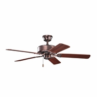 Kichler 330100OBB Renew Oil Brushed Bronze Finish 50 Inch Ceiling Fan