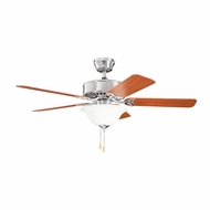 Kichler 330103BSS Renew Select ES Brushed Stainless Steel Finish 50 Inch Home Ceiling Fan