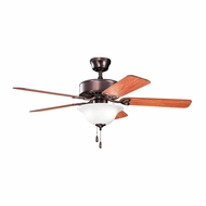 Kichler 330110OBBU Renew Select Oil Brushed Bronze Finish 50 Inch Home Ceiling Fan