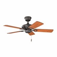 Kichler 337013OZ Sutter Place Olde Bronze Finish 42 Inch Ceiling Fan