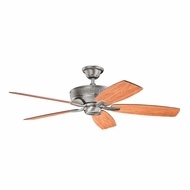 Kichler 339013BAP Monarch Burnished Antique Pewter Finish 52 Inch Ceiling Fan