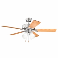 Kichler 339240BSS Renew Premier Brushed Stainless Steel Finish 50 Inch Home Ceiling Fan