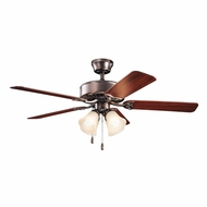 Kichler 339240OBBU Renew Premier Oil Brushed Bronze Finish 50 Inch Ceiling Fan