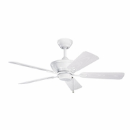 Kichler 339524WH Trent White Finish Indoor / Outdoor 44 Inch Ceiling Fan