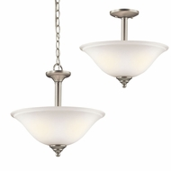 Kichler 3694NIWL16 Armida Brushed Nickel LED Pendant Hanging Light / Ceiling Lighting