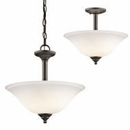 Kichler 3694OZWL16 Armida Olde Bronze LED Hanging Light Fixture / Ceiling Light