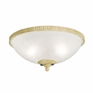 Kichler 380007AW Cortez Aged White Finish Bowl Light Fixture
