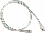 Kichler 3IC2RGBCLR Clear Exterior LED Tape 2ft Interconnect