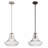 Kichler 42328CS Everly Vintage 11.5  Tall Ceiling Pendant Light